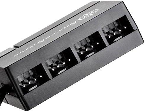 Silverstone PWM Fan Hub System Cables, Black (CPF04)