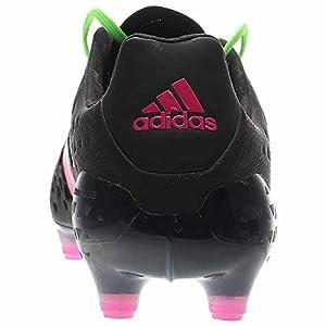 adidas Men's Ace 16.1 FG Black/Shock Green/Shock Pink Sneaker 7.5 D (M)