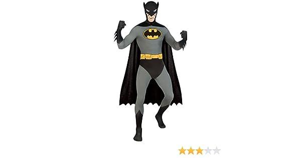 2nd Skin Full Bodysuit Robin Superhero Mens Adult Fancy Dress Costume