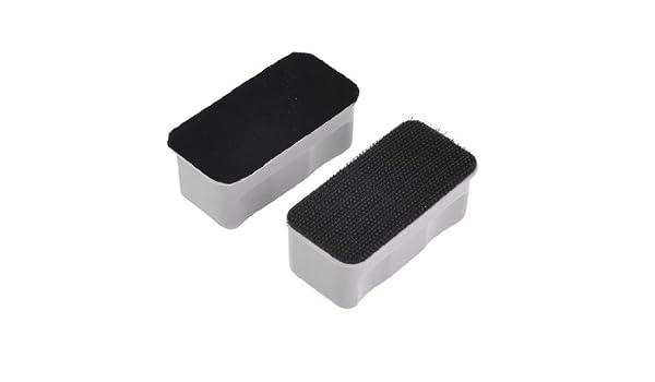 Amazon.com : eDealMax Par Gris Negro flotante acuario pecera de limpieza cepillo magnético : Pet Supplies