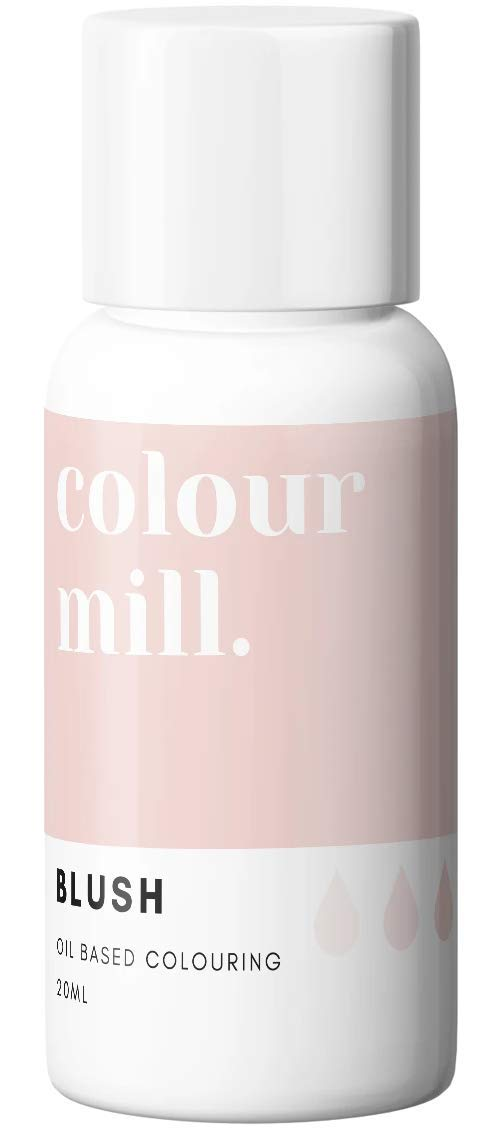 Colour Mill Oil-Based Food Coloring, 20 Milliliters Blush