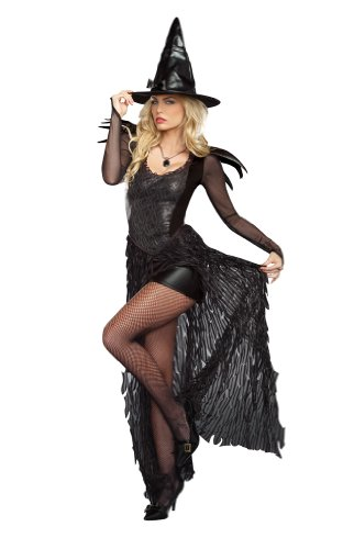 Wicked Mistress Costumes (Dreamgirl Women's Wicked Me, Black, Large)