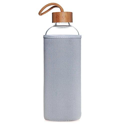 Life4u Sports Borosilicate Bottle Bamboo product image