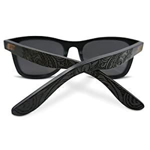 85c3082289 Bamboo Wood Sunglasses – Polarized handmade wooden shades in a wayfarer  that Floats!