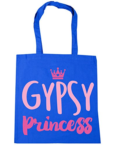 x38cm Bag Shopping 42cm 10 princess Gypsy Beach Gym HippoWarehouse Tote litres Cornflower Blue CU8OWRq