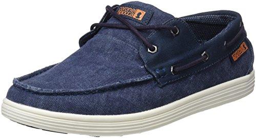 Nautico Azul Caballero Derby Jeans 0 Cordones Tapioca Hombre Coronel para Zapatos Rafia Jeans de IqwxtPaT