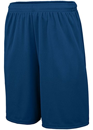 Augusta Sportswear 1428 Adult's Training Short With Pockets Navy XL