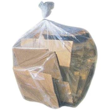 Plasticplace 42 Gallon Contractor Bags - 50 / Case - Clear