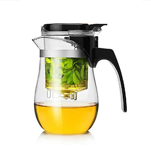 Dechunxian Best Teapot Tumbler Infuser, Perfect Loose Tea Leaves Maker, 650ml.