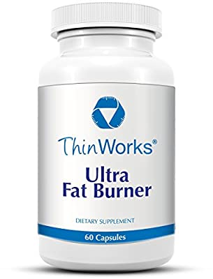 ThinWorks Ultra Fat Burner Thermogenic Metabolism Booster, Diet Pills, Weight Loss Supplement with Hoodia and Green Tea Leaf Extract (60 capsules)