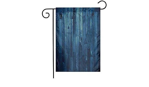 Eastlif Diseño Personalizado Jardín Bandera Azul Oscuro Tablones ...