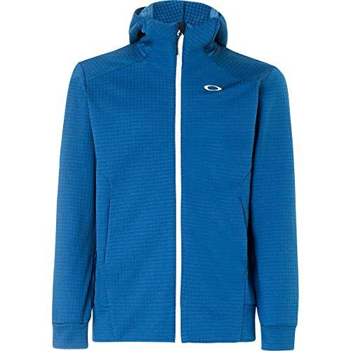 - Oakley Men's Enhance Technical Fleece Jacket.Grid 8.7, Ensign Blue, L