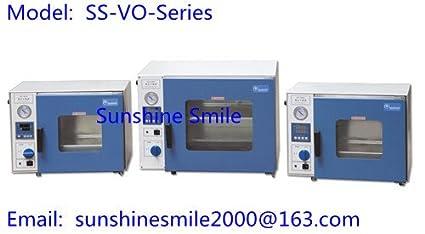 Horno de secado al vacío SS-VO-Series caliente aire esterilización ...