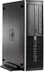 HP Elite 8200 Small Form Factor SFF High Performance Business Desktop Computer, Intel Quad-Core i7 3.4GHz CPU, 8GB DDR3 RAM, 1TB HDD, DVD, VGA, Windows 10 Professional (Certified Refurbished)