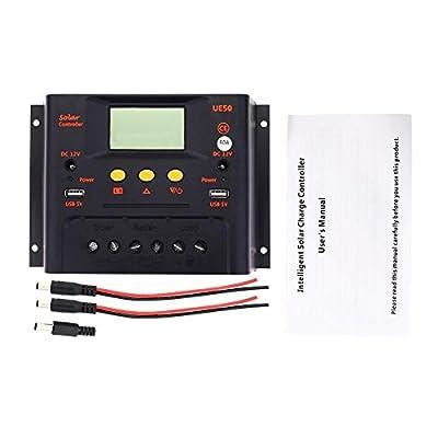 Sun YOBA 60A 48V LCD Solar Charge Controller Solar Controller Solar Regulator