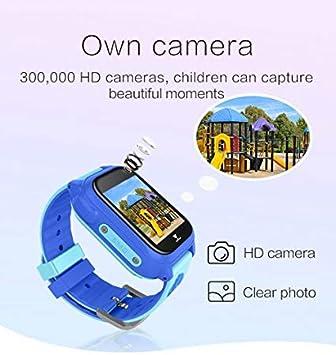 Juego Ninos Smart Watch para Ninas Ninos Regalos de Pascua con Camara 1.5 Touch Podómetro Reloj Despertador Reloj Smartwatch Reloj de Pulsera ...