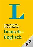 Langenscheidt Handwörterbuch Deutsch-Englisch für Kindle: Deutsch - Englisch (Langenscheidt Handwörterbücher) (German Edition)