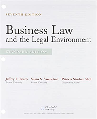 Bundle business law and the legal environment standard edition bundle business law and the legal environment standard edition loose leaf version 7th mindtap business law 2 terms 12 months printed access card fandeluxe Gallery