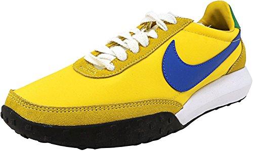 Nike Mens Roshe Waffle Racer Nm True Geel / Hyper Cobalt-lucky Groen-wit