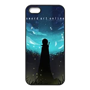 Fashion Sword Art Online Personalized Iphone 5/5SRubber Silicone Case Cover