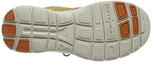 Skechers HintonFranken - zapatilla deportiva de cuero hombre Marrón (wtn)