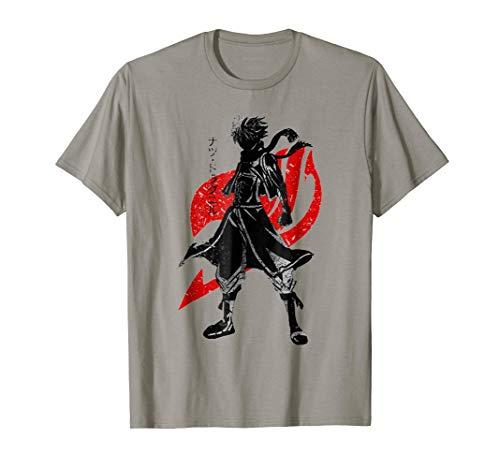 Fairy Tail T Shirt Natsu Logo For Kids ()