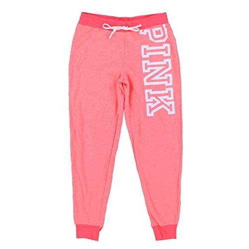 Victoria's Secret Pink Sweatpants Classic Jogger (L, Hot Peach)