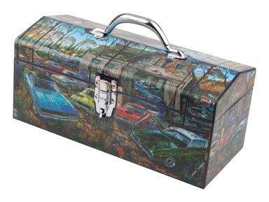 Sainty Art Works 24-099 The Complete Mopar Farm Art Deco Tool Box by Sainty Art Works