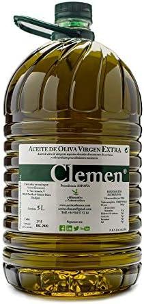 Aceite de Oliva Virgen Extra Clemen 5 Litros 4 unidades