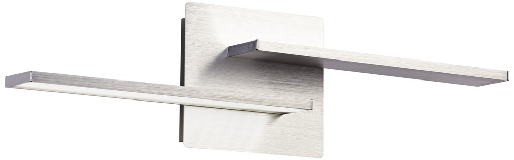 Two Linears 5 1/2'' High LED Brushed Aluminum Wall Sconce