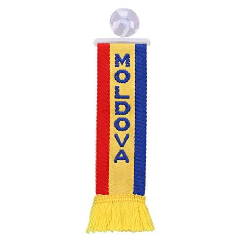 TRUCK DUCK/® per camion Mini sciarpa con bandiera della Moldova