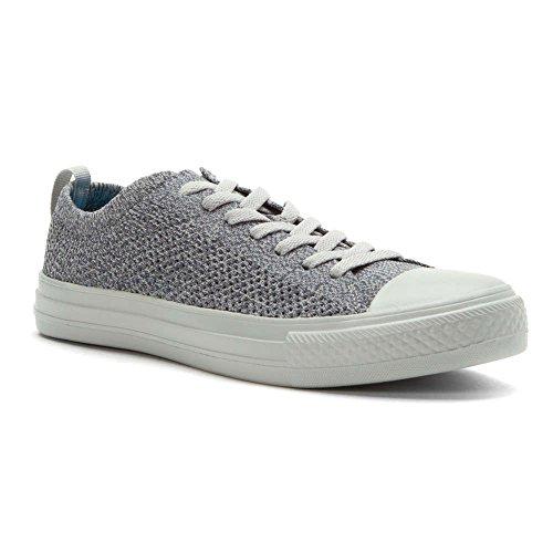 People Footwear Mens Phillips 3D Printed Mesh Fashion Sneakers Heathered Grey Skyline Grey 6 D M  Us
