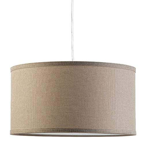 Drum Pendant Light With Chain in US - 7
