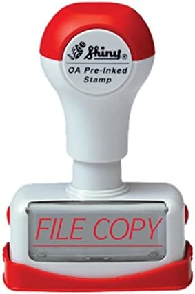 Shiny NF09 Pre-Inked Rubber Stamp