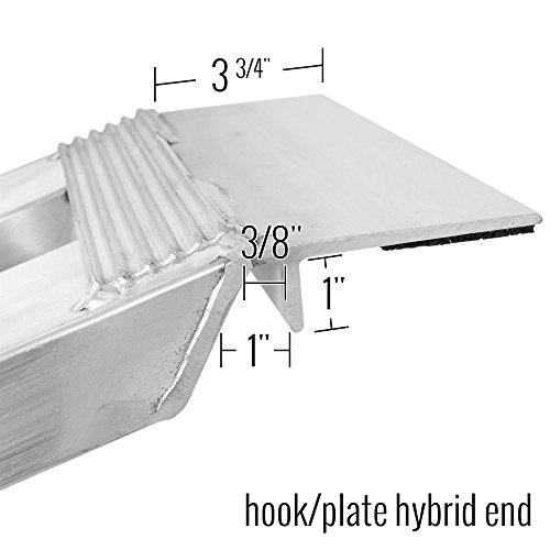 60'' Aluminum Car Hauler Trailer Ramps Hybrid by Discount Ramps (Image #2)