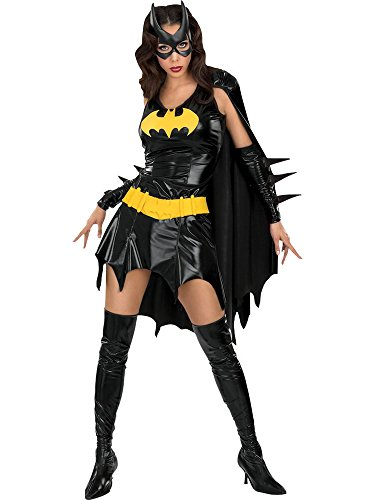 DC Comics Deluxe Batgirl Adult Costume, Medium -