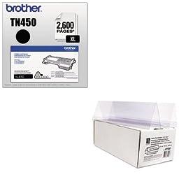 KITBRTTN450CLI87597 - Value Kit - C-line Tent Card Holder (CLI87597) and Brother TN450 TN-450 High-Yield Toner (BRTTN450)