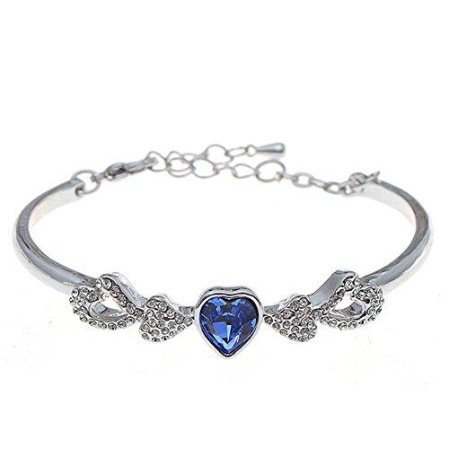 Rada Costume Jewelry (MosierBizne Wholeheartedly Love Crystal Bracelet(1))