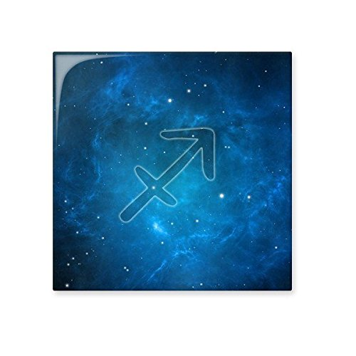 Starry Sky Night Sagittarius Zodiac Constellation Sign Ceramic Bisque Tiles for Decorating Bathroom Decor Kitchen Ceramic Tiles Wall Tiles chic