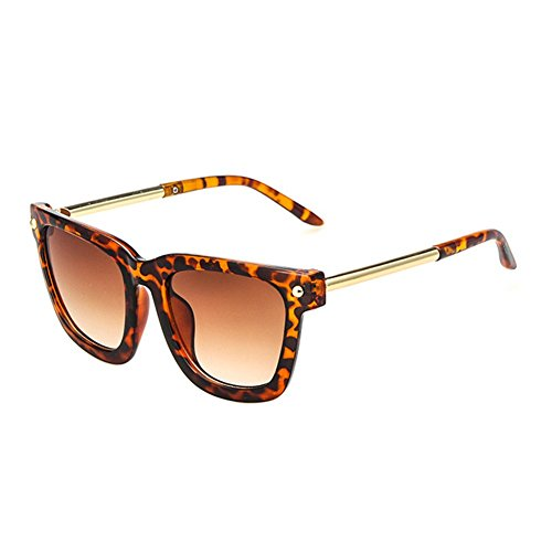 Z-P New Fashion For Unisex Round Reflective UV400 Metal Round Leg Sunglasses - Bans I What Get Ray Should