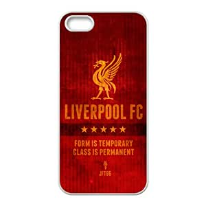 YESGG Liverpool F.C. Cell Phone Case for Iphone 5s