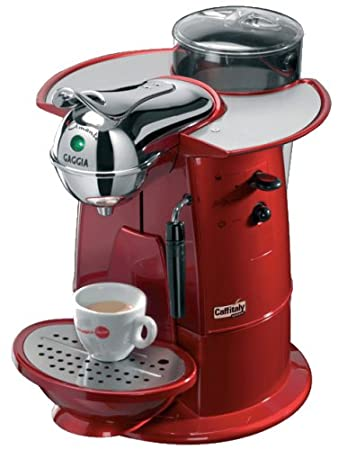 Gaggia 116037 - Cafetera espresso L amante Rojo: Amazon.es ...