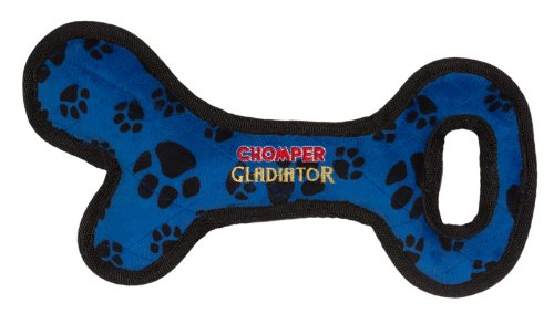 Cheap Boss Pet Chomper Gladiator Tuff Bone Tug Toy for Pets, Assorted Colors