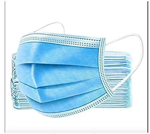3 Ply Disposable Face Mask Universal Breathable & Comfortable Non Surgical Safety Mask with Earloop & Nose Pin (50 Pcs) Price & Reviews