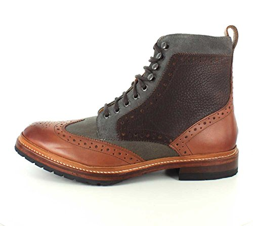 Stacy Adams Mens Madison Ii Stivaletto In Pizzo Cognac-multi