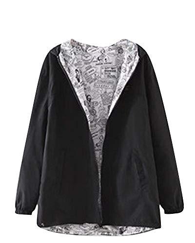 Manches Long Classique Manteau Femme Court pnwTtgq