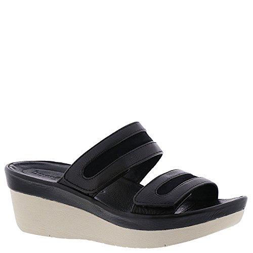 BUSSOLA Glinda Womens Sandal Black K31r5VU