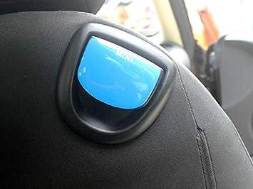 para coche Juego de 2 piezas de calcoman/ías para el marco de los botones del asiento para Mini Cooper R Series R55 R56 R57 R58 R59 R60 R61 NR13