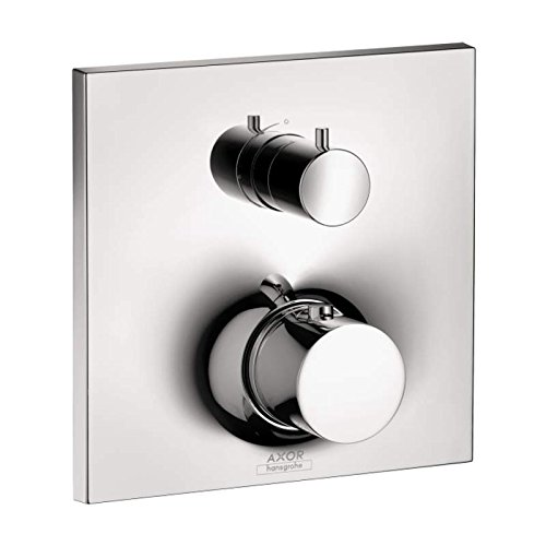Hansgrohe 18745001 AX Massaud Trim Thermostatic w/Volume Control ()