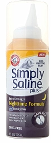 Simply Saline Nght Nasal Size 4.25z Simply Saline Nght Nasal Mist 4.25z